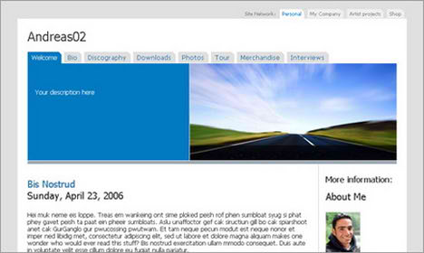 andreas02 blogger templates