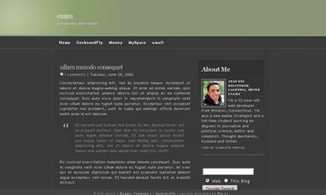 Plantillas para tu blog