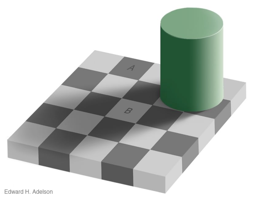 shadow Color Optical illusion
