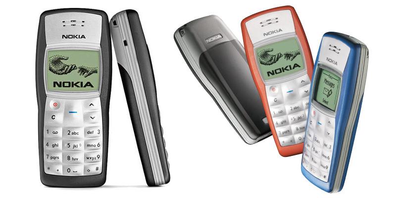 nokia 1100 world most popular phone