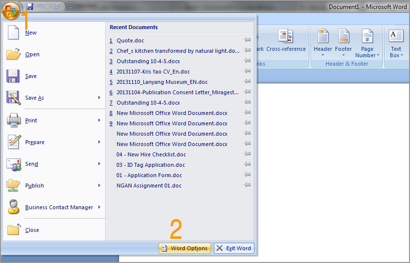 microsoft office doc