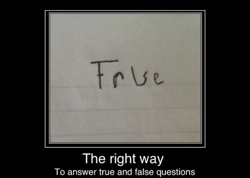 true false illusion