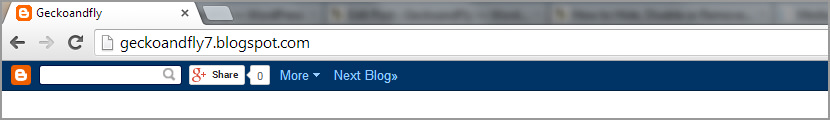 How to Hide, Disable or Remove Blogger Blogspot NavBar?