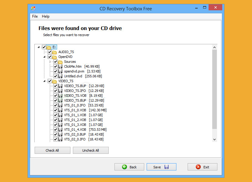 Free CD, DVD, SD, CF Memory Card Data and Photos Recovery Software for Damaged Disc