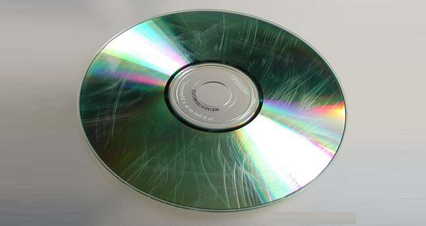 scratched dvd cd