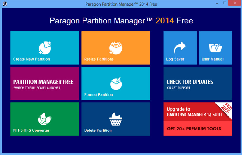 partition manager 2014
