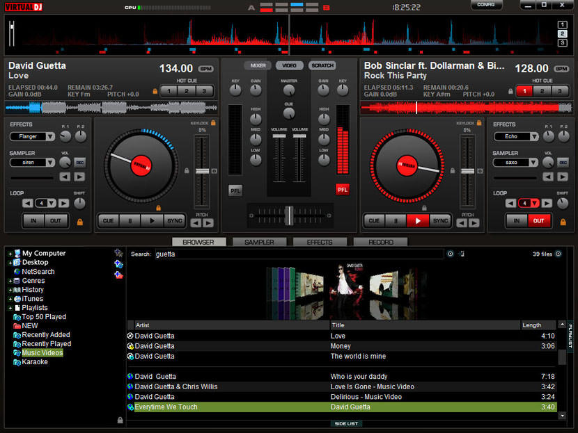 I have to say VirtualDJ is the best DJ Mixer software. When compared with VirtualDJ 5, this new version of VirtualDJ brings many new and exciting features. It greatly enhances the core values which made VirtualDJ so popular: accessibility, versatility and cutting-edge technology.
