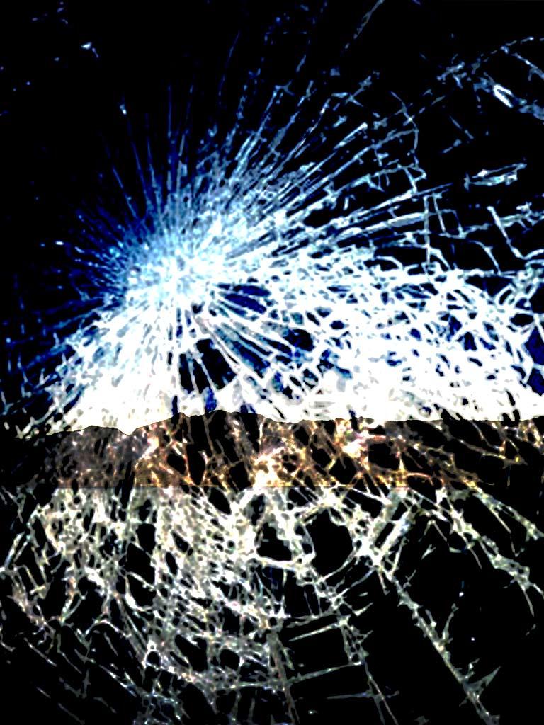 mobile screen break wallpaper hd