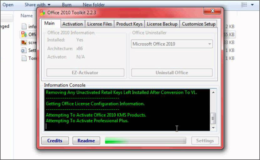 WARNING! Microsoft Office 2010 Toolkit and EZ-Activator