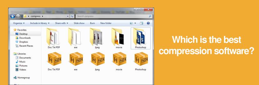 Data and File Compression Comparison .zip vs .rar vs .7z