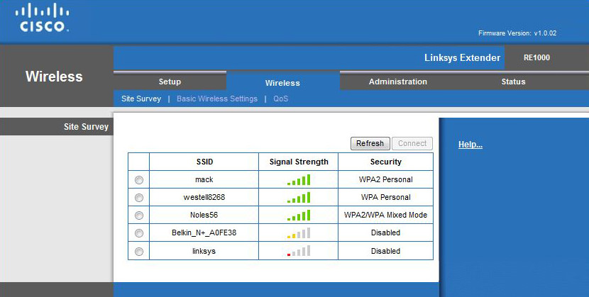 Cisco Linksys RE1000 Range Extender Review