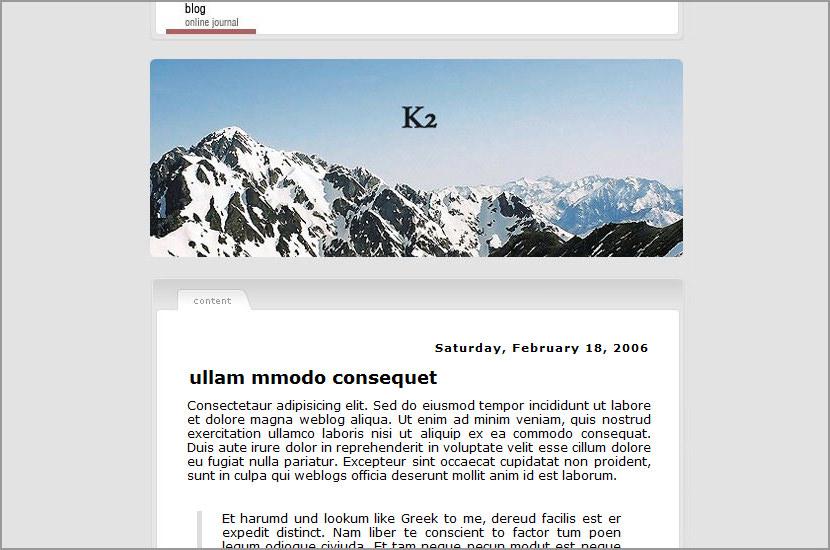 k2 blogspot blogger template