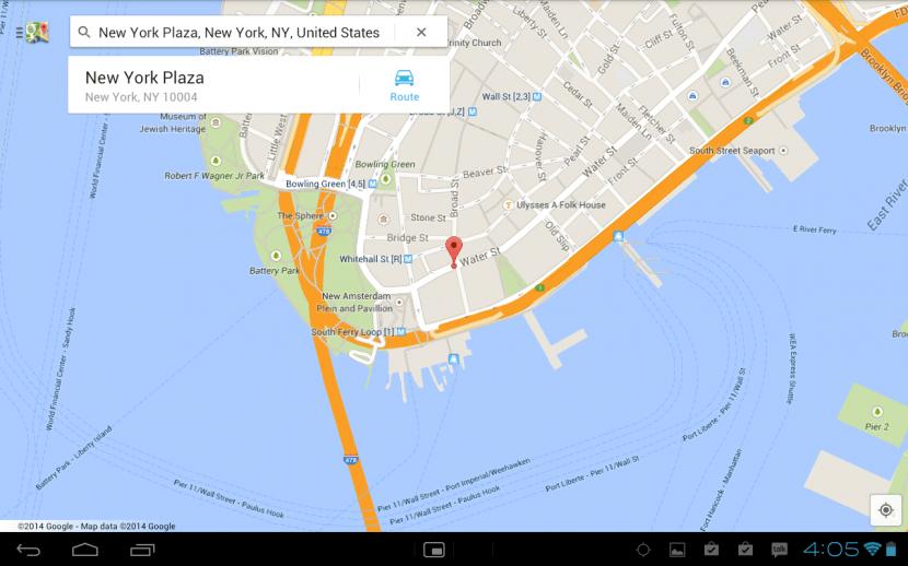 make google maps android offline download