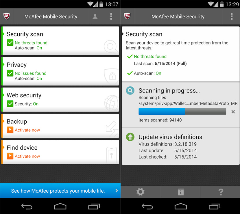 McAfee WaveSecure - GPS Location Tracking for Stolen Android Phone