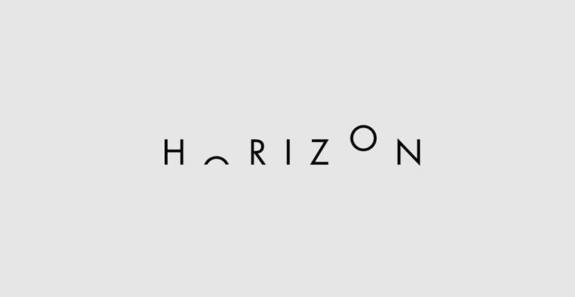 Horizon Creative Word Art Images As Iconic Logos