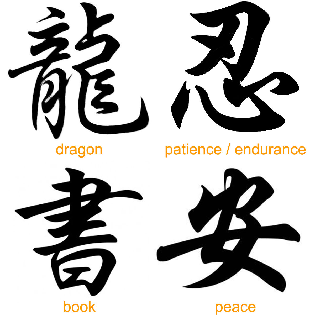 Best Kanji Tattoo Designs Our Top 10: 100 Beautiful Chinese Japanese Kanji Tattoo Symbols & Designs