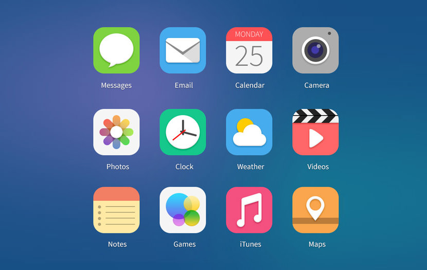ios7 icons preview