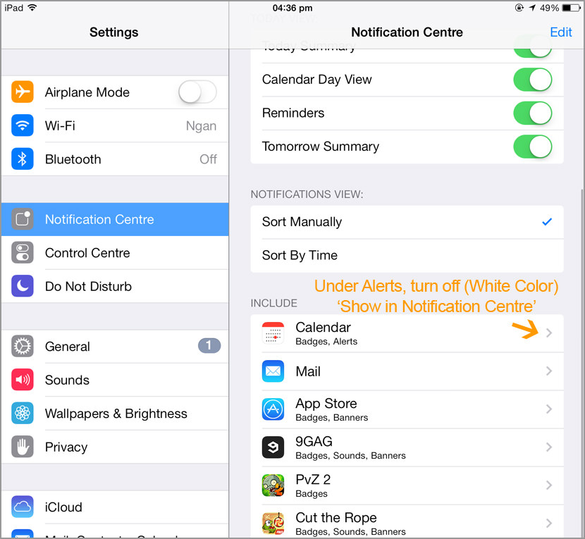 iphone disable push notification Awesome Tips On Extending iPhone iOS8 Battery Life For 24 Hours