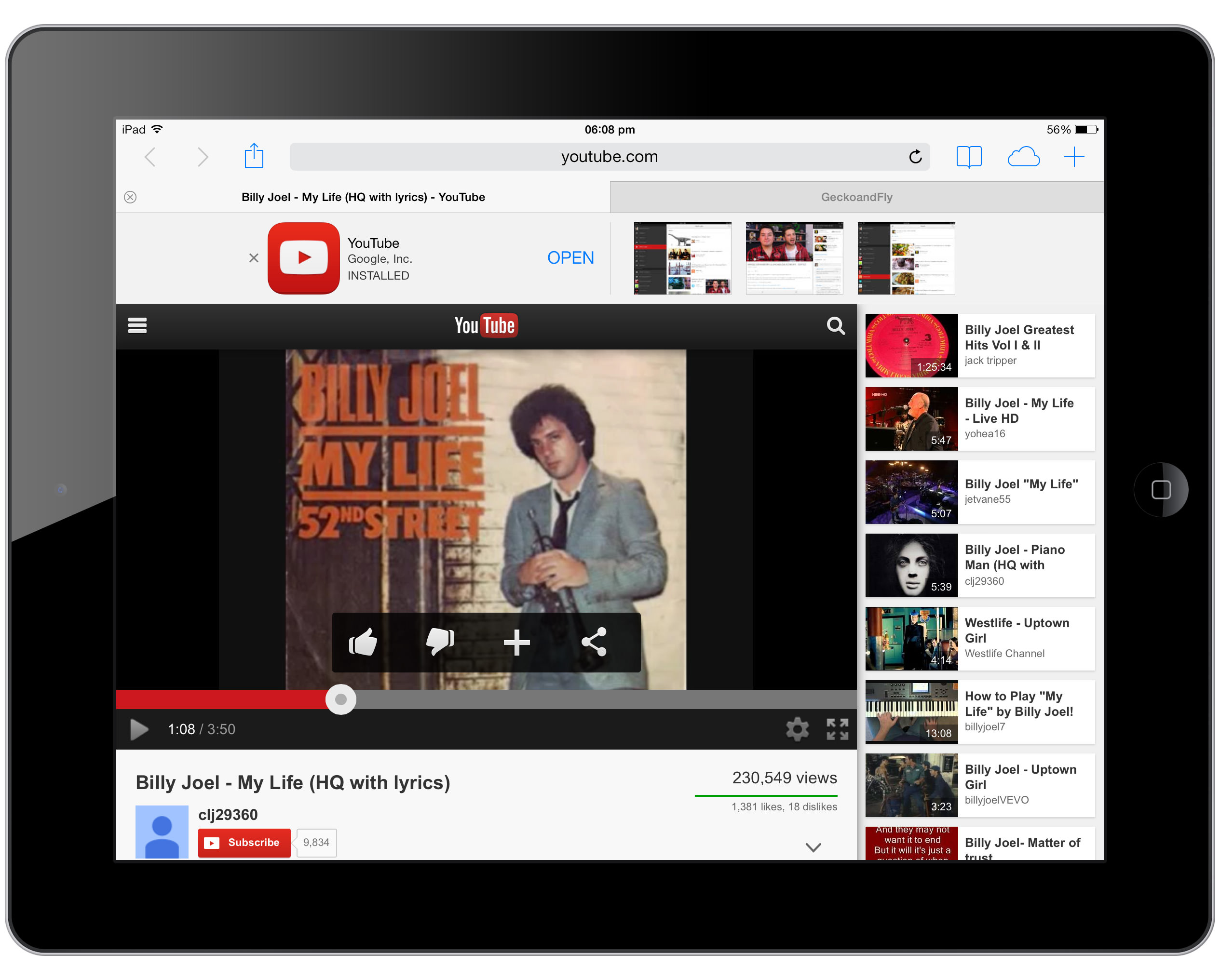 Play iTunes or YouTube Music in the Background on iPad or iPhone iOS