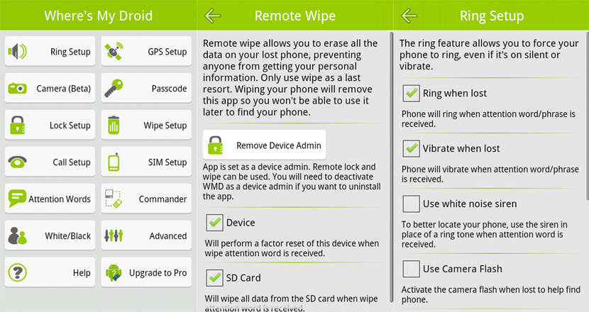 recover stolen android smartphone