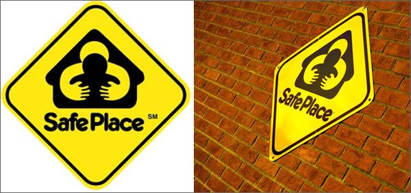 safe place bad logo