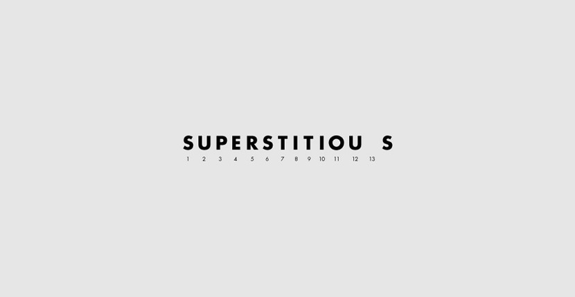 superstitious Creative Word Art Images As Iconic Logos