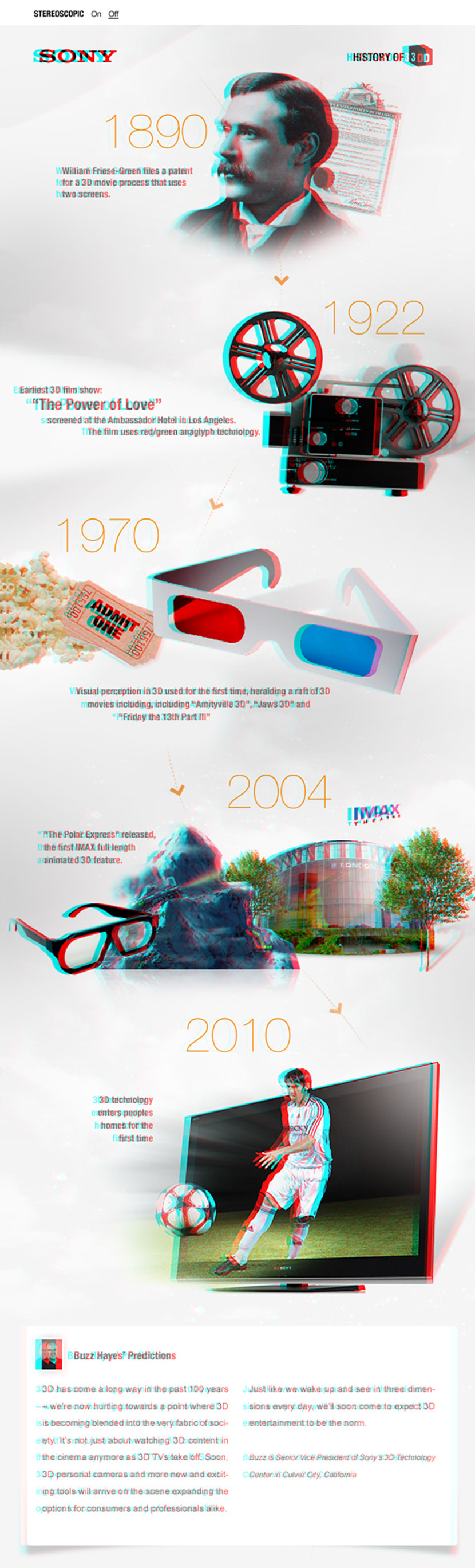 3d glasses tv movies test infographic