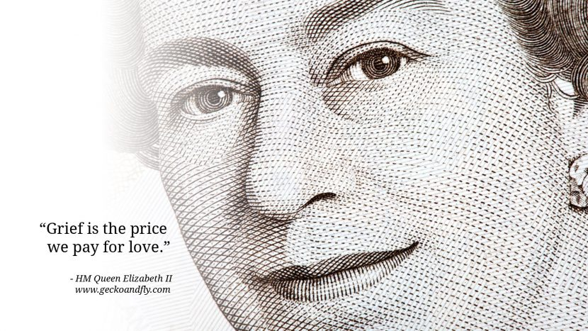 Queen Elizabeth II Quotes Grief is the price we pay for love.