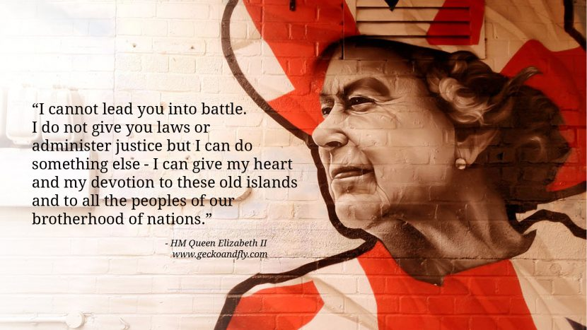 Queen Elizabeth II Quotes I cannot lead you into battle. I do not give you laws or administer justice but I can do something else - I can give my heart and my devotion to these old islands and to all the peoples of our brotherhood of nations.