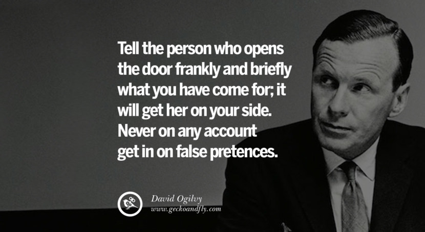 Quality of salesmanship involves energy, time and knowledge of the product. Quote by David Ogilvy