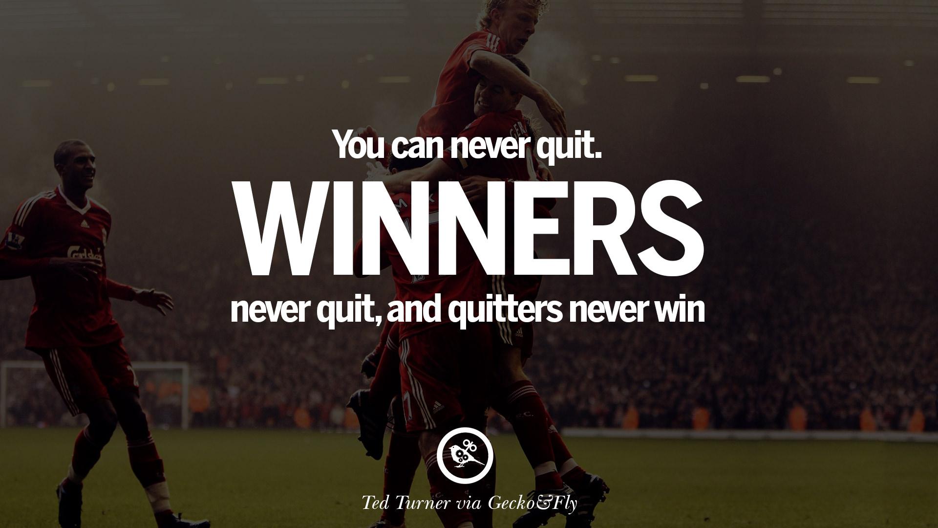 never quit inspirational quotes quotesgram