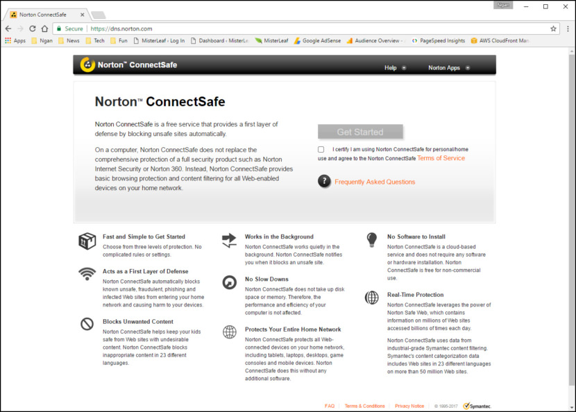 Norton ConnectSafe