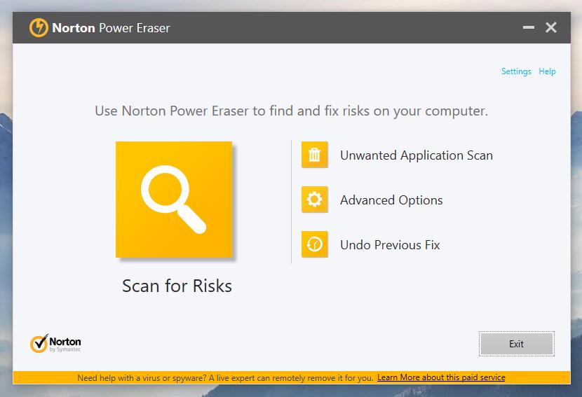 norton power eraser Powerful Fake Antivirus Virus Removal Tool by McAfee, Norton, Kaspersky and Malwarebytes