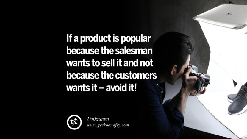 Inspirational Motivational Poster Amway or Herbalife If a product is popular because the salesman WANTS to sell it and not because the customers wants it - avoid it! - Unknown best inspirational quotes tumblr quotes instagram