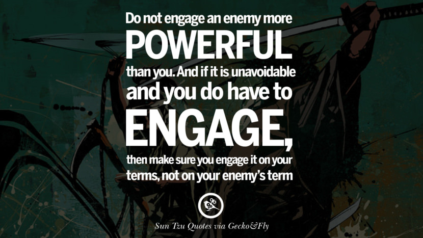 If you know the enemy and know yourself you need not fear the results of a hundred battles. sun tzu art of war quotes frases arte da guerra war enemy instagram twitter reddit pinterest tumblr facebook