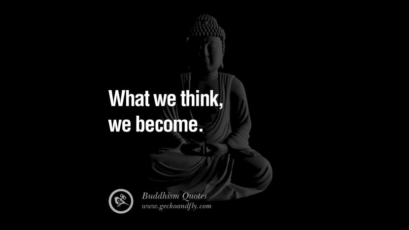 What we think, we become. anger management buddha buddhism quote best inspirational tumblr quotes instagram