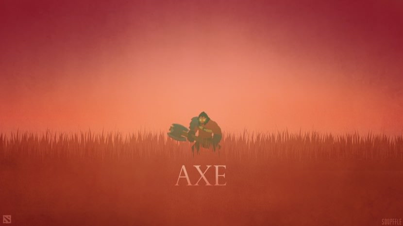 Axe download dota 2 heroes minimalist silhouette HD wallpaper