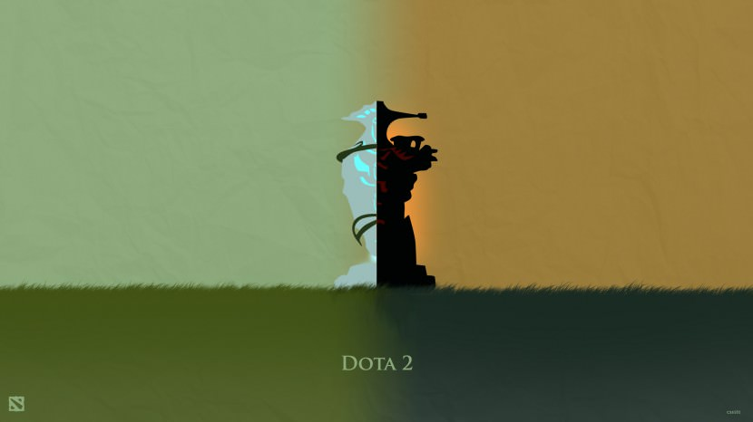 Dota 2 Dire and Radiant Towers download dota 2 heroes minimalist silhouette HD wallpaper