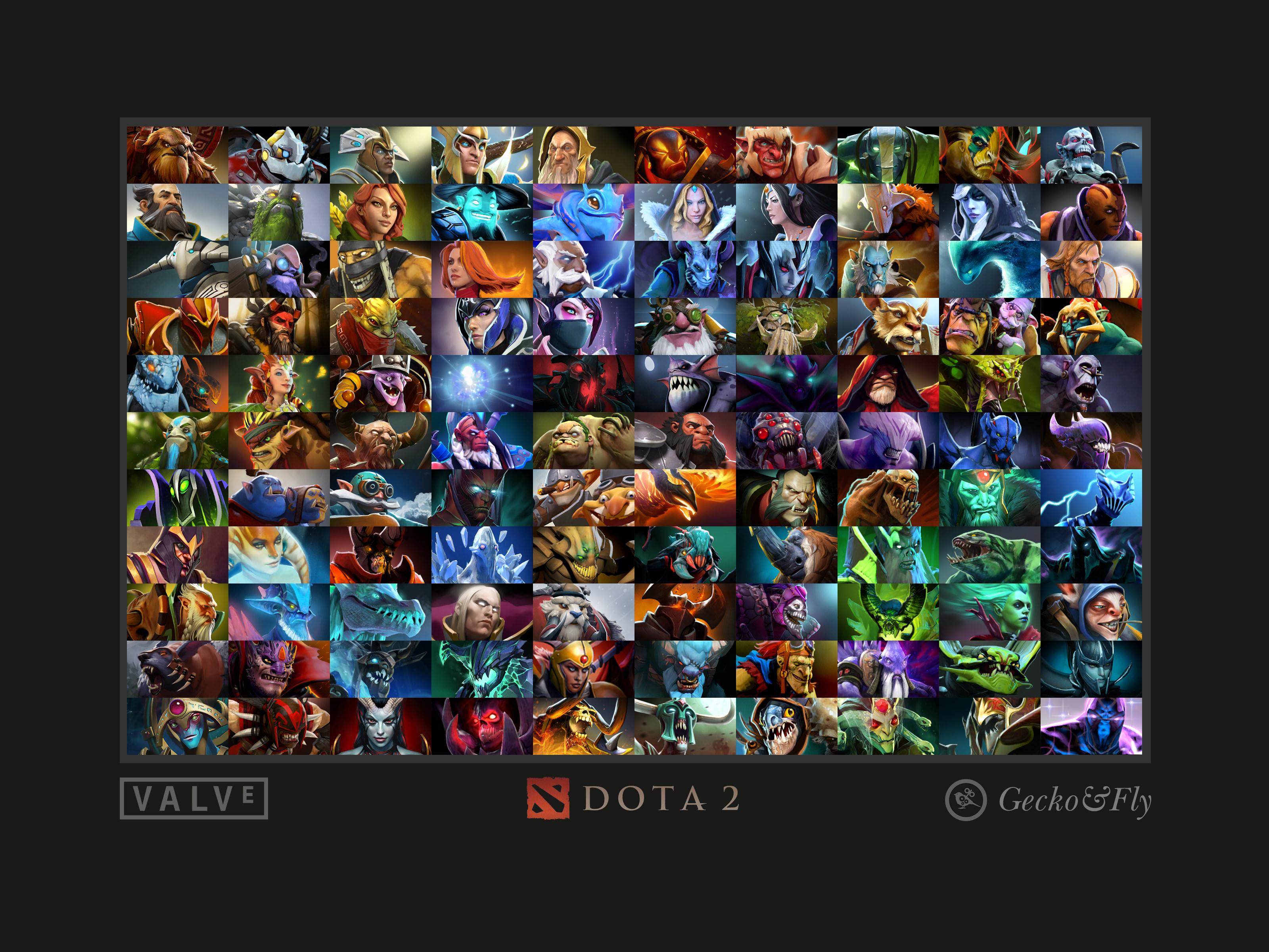 50 Beautiful DOTA 2 Posters & Heroes Silhouette HD Wallpapers