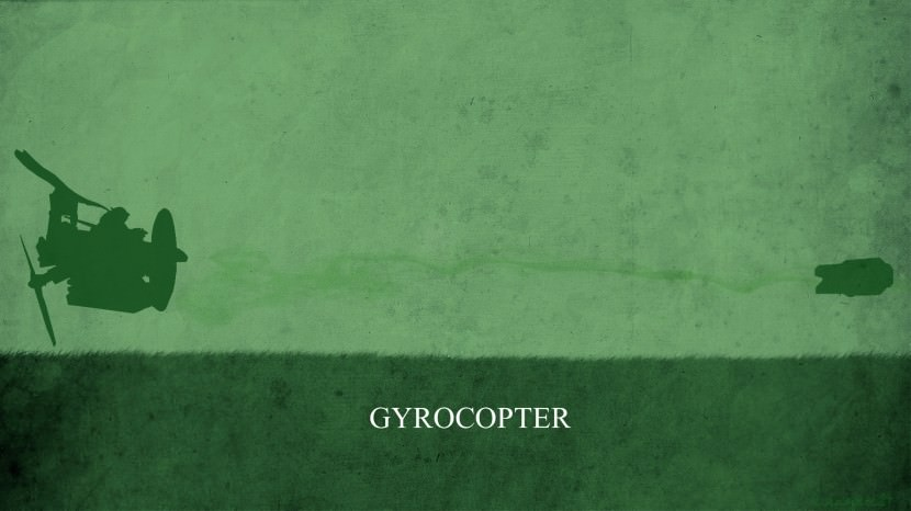 Gyrocopter download dota 2 heroes minimalist silhouette HD wallpaper