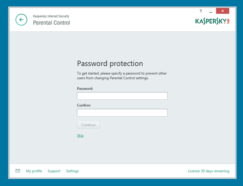 Kaspersky Internet Security Advanced Parental Controls - Helps you ensure your children are safe and responsible online while they're surfing the web, gaming and enjoying social networks.