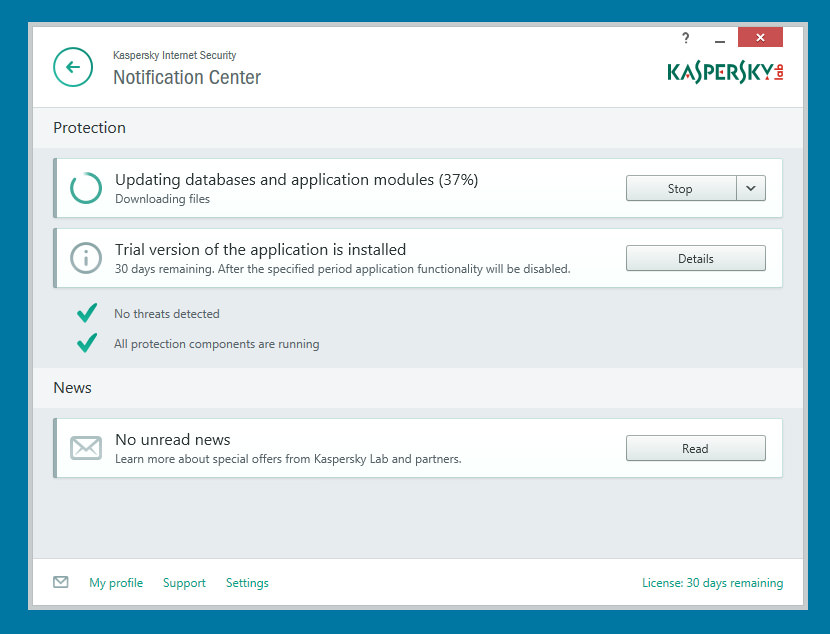 Kaspersky Internet Security Innovative Hybrid Protection - Combines innovative, cloud-based technologies with advanced antivirus protection to ensure you're always safe from the latest threats.