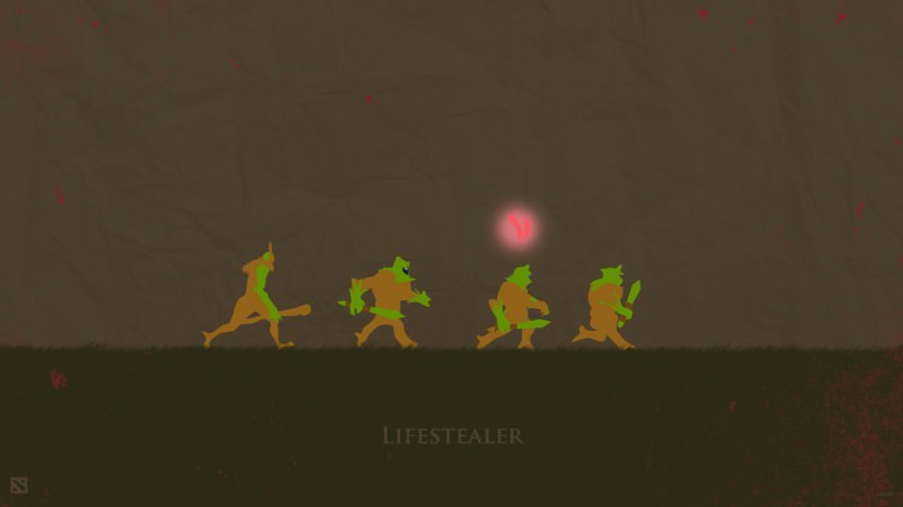 Lifestealer download dota 2 heroes minimalist silhouette HD wallpaper