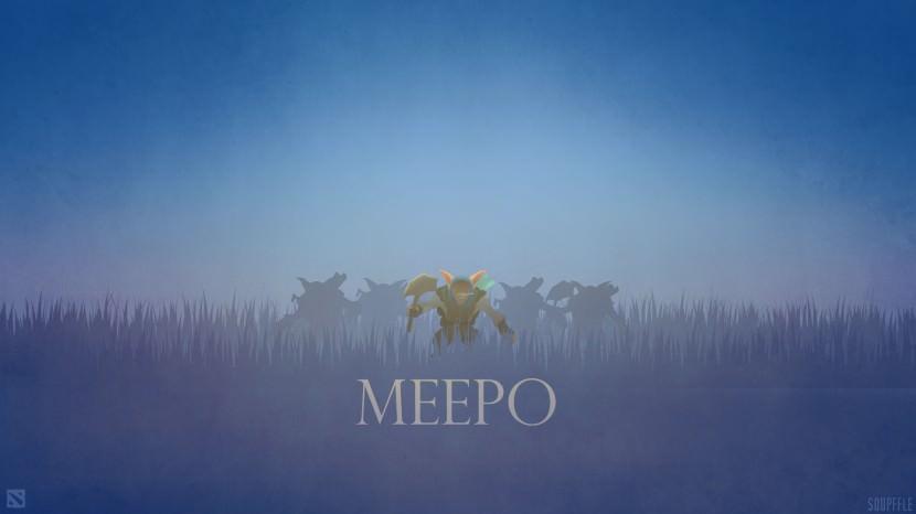 Meepo download dota 2 heroes minimalist silhouette HD wallpaper