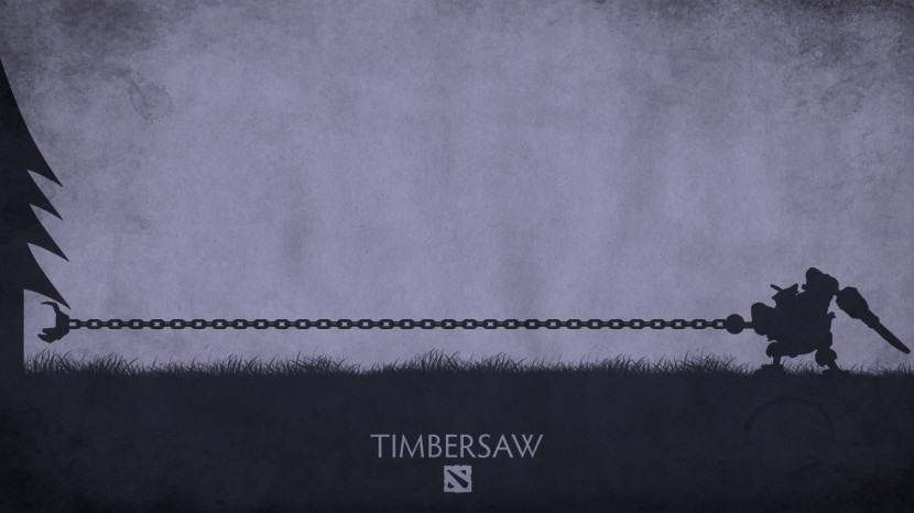 Timbersaw download dota 2 heroes minimalist silhouette HD wallpaper