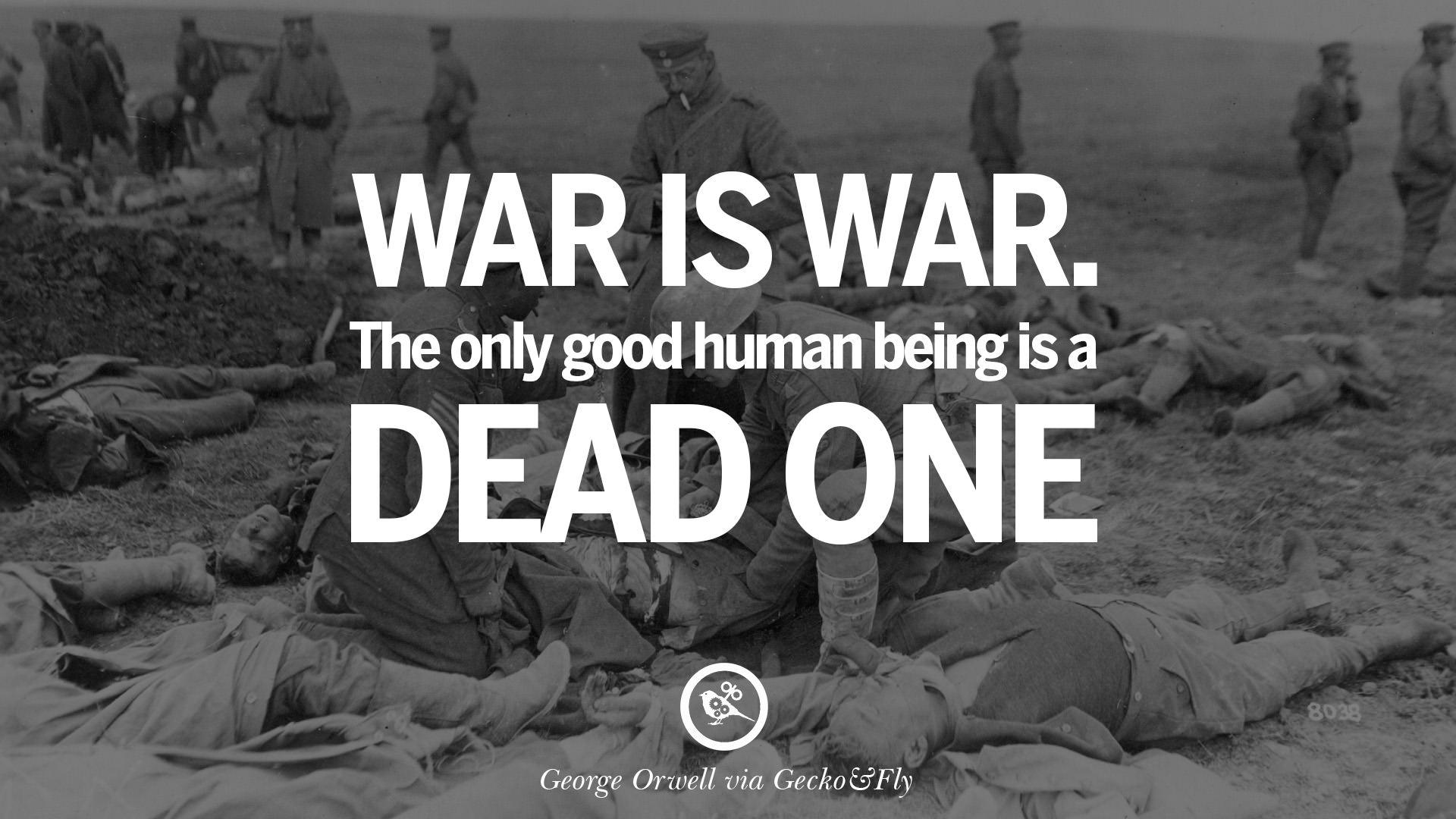 George Orwell Zitate