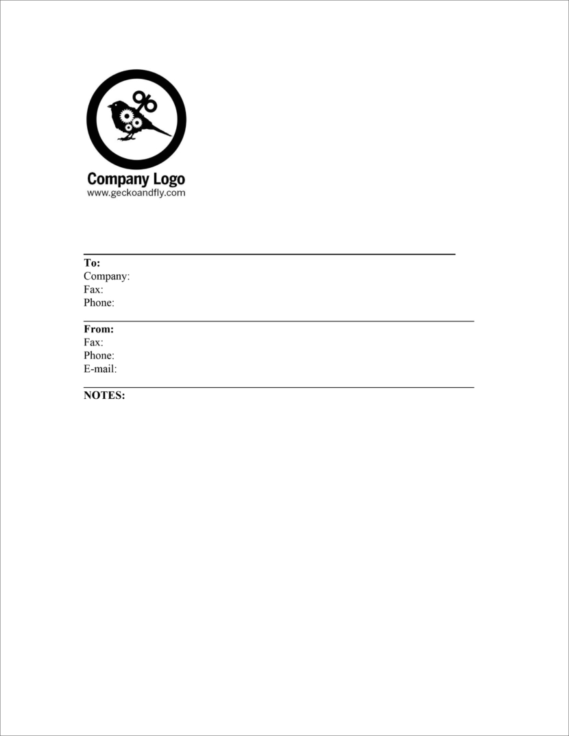 20 Free Fax Cover Templates    Sheets In Microsoft Office Docx