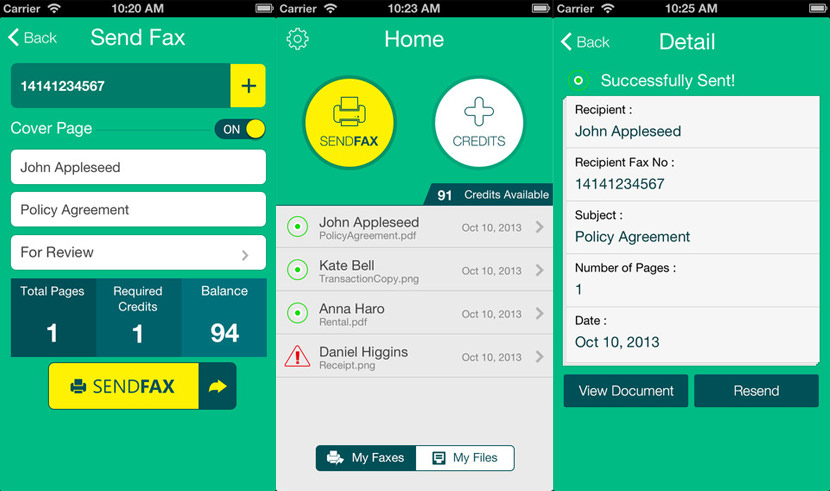 fax pro Best Fax App For iOS iPhone, iPad And Android Smartphone Tablet