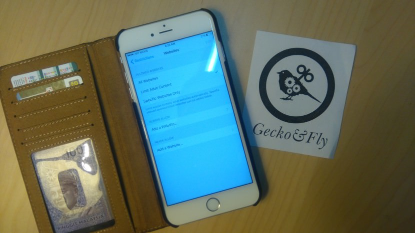 how to block not family friendly websites on the iPhone, iPod & iPad