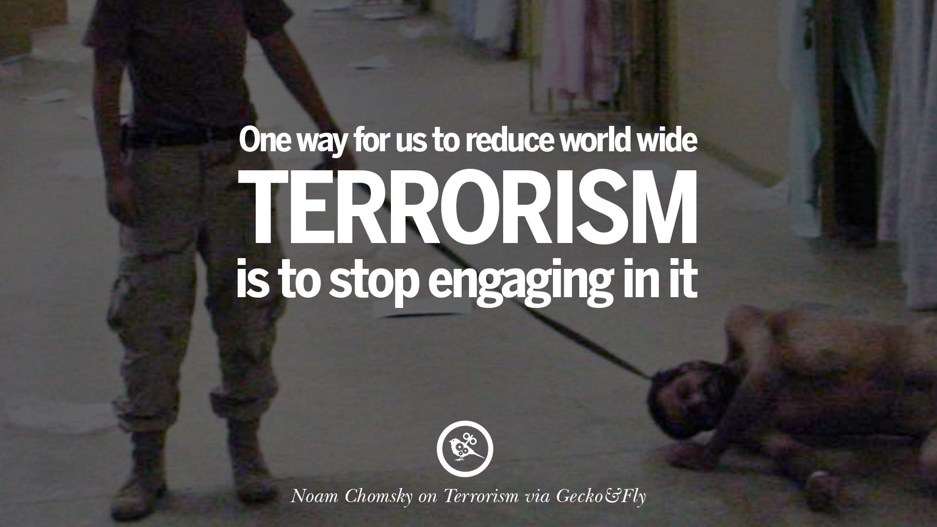 22 Inspiring Quotes Against Terrorist and Religious Terrorism